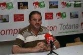 Cánovas afirma que el Ayuntamiento de Totana está recurriendo a la pignoración de futuros ingresos para conseguir créditos