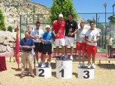 Un total de 24 parejas han participado en el II torneo de pádel Fiestas de Santiago