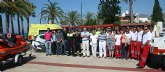 Reverte destaca la seguridad de las playas murcianas y reclama prudencia a los bañistas