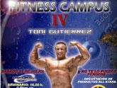 El gran culturista español Toni Gutiérrez impartirá el próximo sábado día 31 de julio en Totana un Campus Training