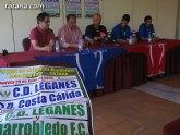 Las instalaciones deportivas municipales acogen los entrenamientos de la pretemporada del C.D. Leganés, que milita en 2ª División B