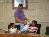 Autoridades municipales reciben a los siete niños saharauis y a las familias totaneras que los acogen durante los meses de julio y agosto - 25
