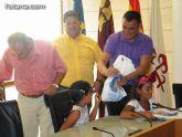 Autoridades municipales reciben a los siete niños saharauis y a las familias totaneras que los acogen durante los meses de julio y agosto - 27