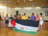 Autoridades municipales reciben a los siete niños saharauis y a las familias totaneras que los acogen durante los meses de julio y agosto - 34