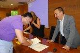 El ayuntamiento se adhiere al convenio de colaboración suscrito entre la CARM y la CROEM