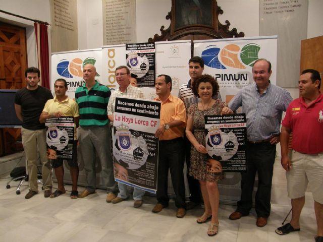 Lorca La Hoya Lorca Club De Futbol Presenta Su Nuevo Proyecto