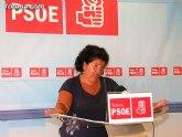 Rueda de prensa PSOE Totana, valoración del Pleno ordinario del mes de julio 2010