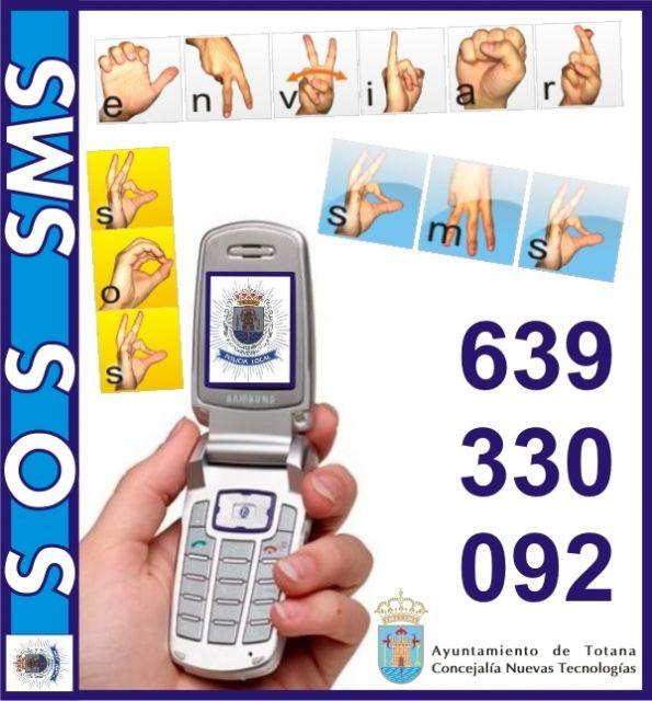 El ayuntamiento implanta el servicio SOS SMS, Foto 1