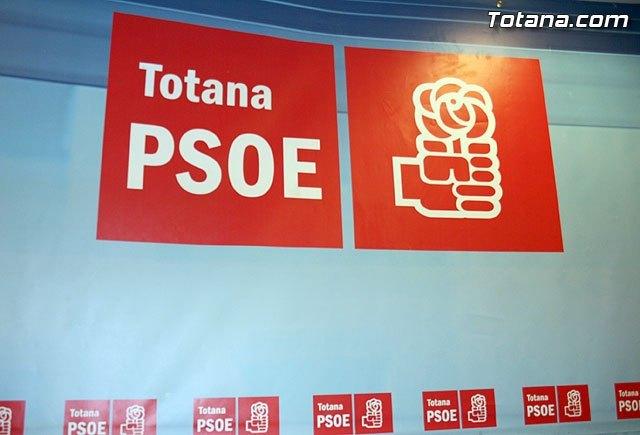 Los socialistas de Totana afirman que la dimisión de Andreo debe ser inmediata, Foto 1