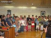 El concejal de Nuevas Tecnologías clausura el primer semestre de 2010 del proyecto RAITOTANA con la entrega de diplomas a los alumnos