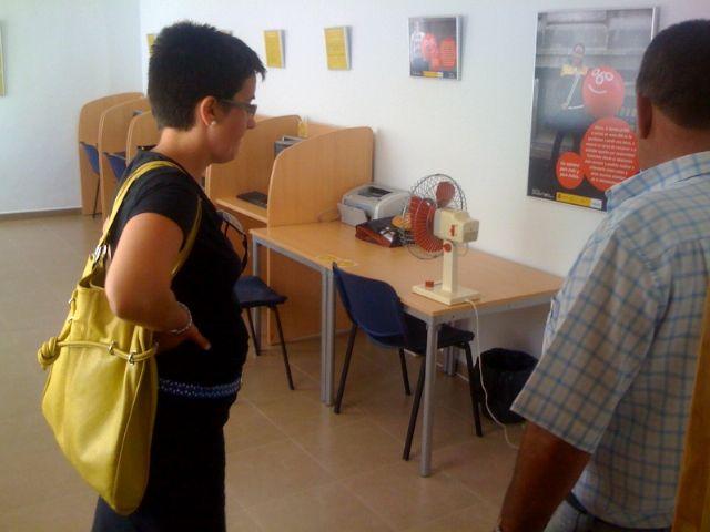 La concejal de Planificación y Desarrollo Sostenible visita el estado de las obras del nuevo Centro Social de la pedanía de el Raiguero Alto, Foto 2