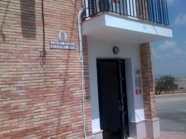 La concejal de Planificación y Desarrollo Sostenible visita el estado de las obras del nuevo Centro Social de la pedanía de el Raiguero Alto, Foto 3