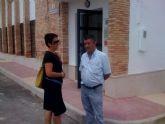 La concejal de Planificación y Desarrollo Sostenible visita el estado de las obras del nuevo Centro Social de la pedanía de el Raiguero Alto