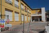 Comienzan las obras de construcción de la Escuela municipal de Padres y la cubrición de la pista polideportiva del C.P. Santa Eulalia