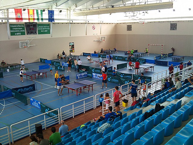 Torneo abierto tenis de mesa San Roque. Huetor Vega (Granada), Foto 2