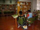 La sala de estudio de la biblioteca municipal mantiene su horario para los exámenes de septiembre