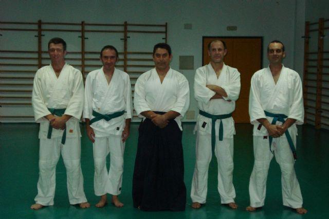 El curso de aikido 2009-10, organizado por el club aikidio de Totana, acaba de dar por finalizadas sus clases, Foto 3