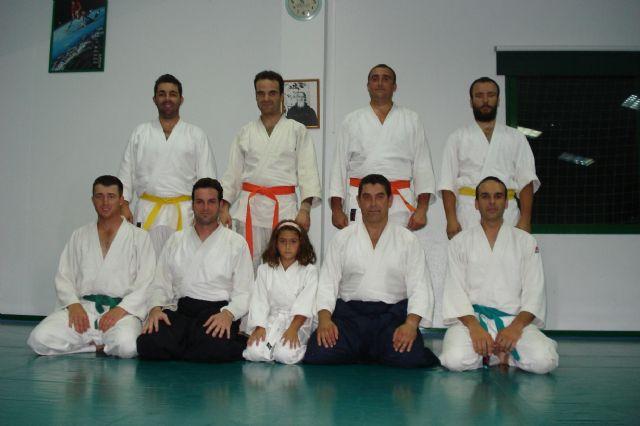 El curso de aikido 2009-10, organizado por el club aikidio de Totana, acaba de dar por finalizadas sus clases, Foto 5