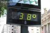 Alerta roja por la posibilidad de temperatura extremas en la Regi�n de Murcia a partir de las 14:00 horas de hoy  27/08/2010