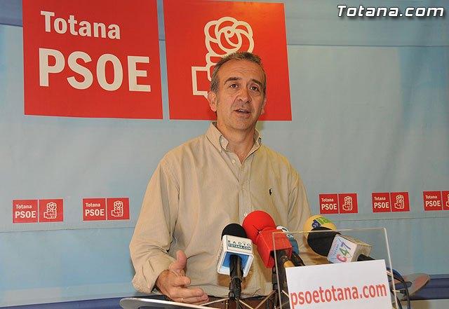 El PSOE asegura que Valverde está asfixiando el deporte de base de Totana, Foto 1