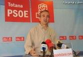El PSOE asegura que Valverde está asfixiando el deporte de base de Totana