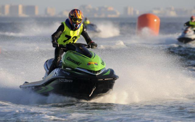 Los murcianos, Amador Ferrer y Ezequiel Carrillo, se proclaman Campeones de España en motos de agua, Foto 2