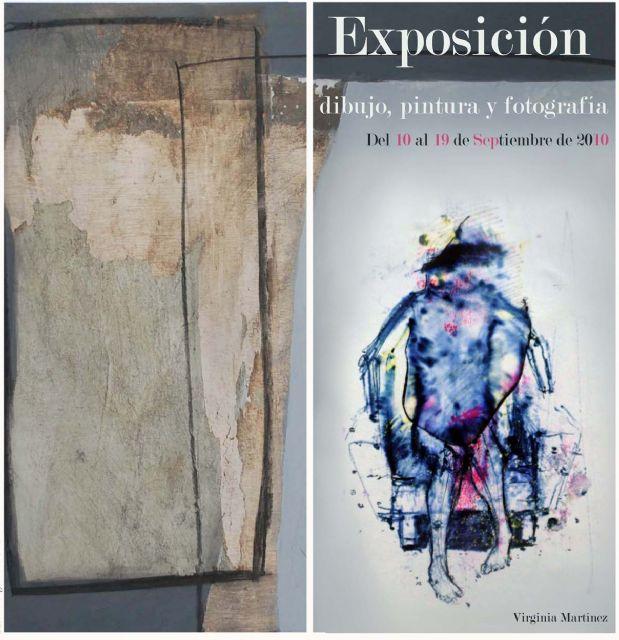 Exposición de dibujo, pintura y fotografía de la joven totanera Virginia Martínez, Foto 1