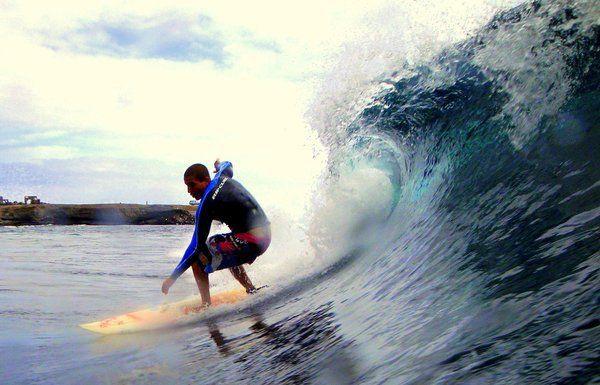 ´I Open de Surf´ en la playa de Bahía, Foto 1