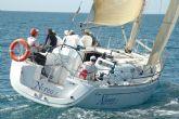 El equipo infantil del Club de Regatas de Mazarrón comienza a navegar de nuevo