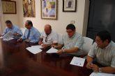 Las tres partes implicadas en el Parque Industrial de Alhama firman un acuerdo con el firme prop�sito de ayudar a los empresarios