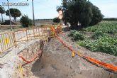 Entran en su recta final las obras de soterramiento de la l�nea de media tensi�n en el Pol�gono - 4