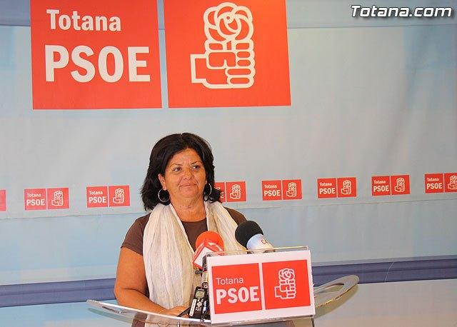 Rueda de prensa del PSOE, valoración del Pleno de Septiembre 2010, Foto 1