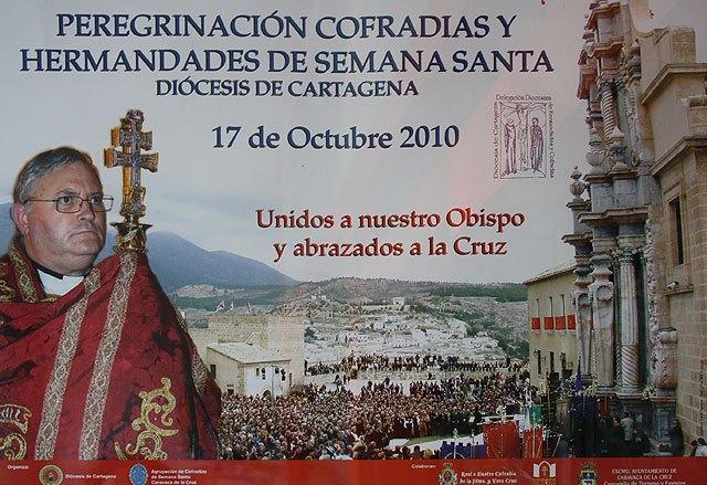 Peregrinación a Caravaca de Cofradías y Hermandades de Semana Santa, Foto 1