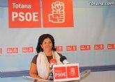 Rueda de prensa del PSOE, valoración del Pleno de Septiembre 2010
