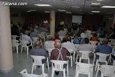 Las personas mayores de Totana celebran hoy su Día Internacional con una Asamblea General de los socios del Centro Municipal y una chocolatada - 1