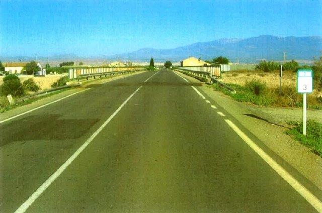 La Comunidad mejora los accesos a Totana desde la pedanía de El Paretón, Foto 1