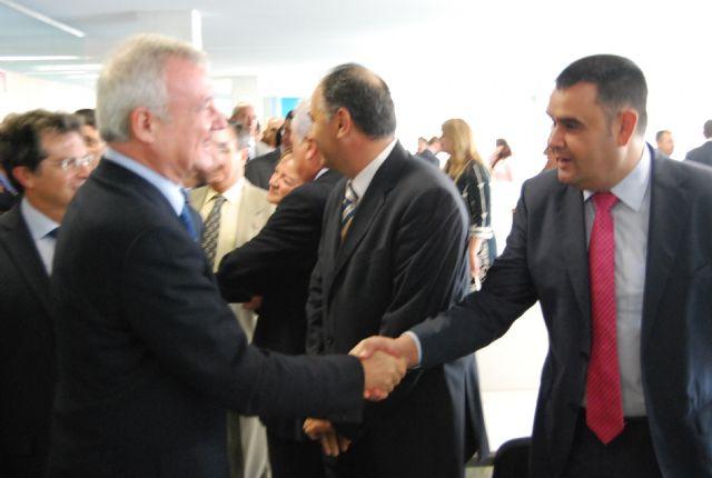 El alcalde asiste a la inauguración del Campus Universitario de Lorca, Foto 2