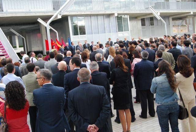 El alcalde asiste a la inauguración del Campus Universitario de Lorca, Foto 4