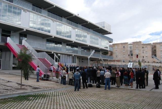 El alcalde asiste a la inauguración del Campus Universitario de Lorca, Foto 1