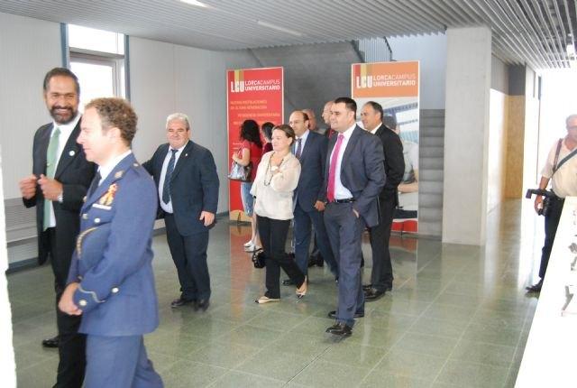 El alcalde asiste a la inauguración del Campus Universitario de Lorca, Foto 3