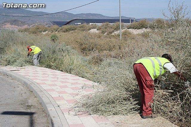 La concejalía de Servicios lleva a cabo un plan de saneamiento profundo de más de una veintena de caminos rurales, Foto 2