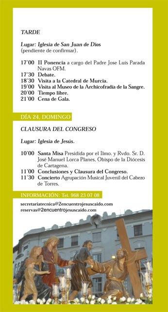 La Caída de Totana participará en el II encuentro nacional de Hermandades y Cofradias de Jesús Caído, Foto 3