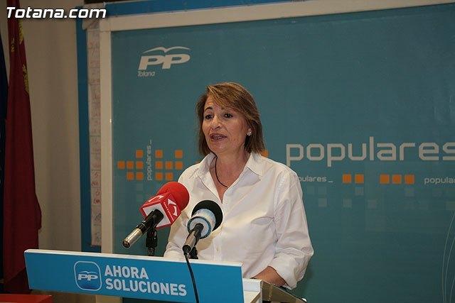 El PP de Totana denuncia que los Presupuestos Generales del Estado vuelven a marginar a Totana, Foto 1