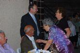 Nuestros mayores bailaron sin parar en la Fiesta organizada para ellos durante la Feria 2010
