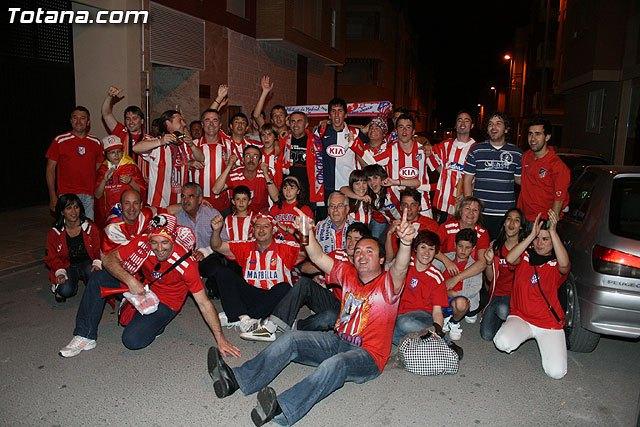 La Peña Atlético de Madrid de Totana organiza un viaje a madrid para presenciar el partido Atlético de Madrid C.F. – Getafe C.F., Foto 1