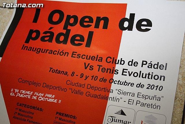 La Escuela de Pádel, impulsada por el Club Pádel Vs Tenis Evolution, arranca este fin de semana, Foto 2
