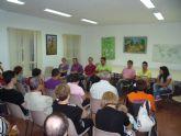 El concejal de Bienestar Social se reune con los familiares de los alumnos del Centro Ocupacional José Moyá
