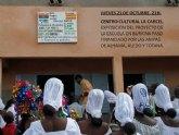Exposici�n de la inauguraci�n del colegio de Burkina Faso
