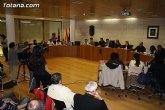 El Pleno aprueba la concesión del Escudo de Oro de la Leal y Noble Ciudad de Totana al Colegio Reina Sofía y a la Agrupación Musical de Totana