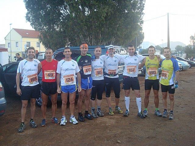La seccion de montaña del Club Atletismo Totana se alza con el tercer puesto en la copa regional de carreras por montaña, Foto 1